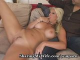 Voluptuous Honey Swings With Neighbor
