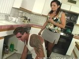 MILF Hits On Plumber And Takes Dick Hard