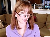 mature redhead masturbation