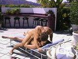 Getting some cum by the pool