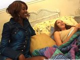 Sensual black lesbian sex video