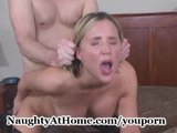 Wife Gets Huge Load of Cum
