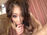 Asian girl squirts and ge...