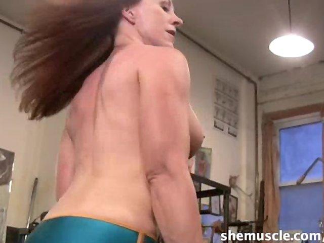 Aggressive shemuslce free porn