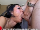 Tia Takes a Load in the Mouth 