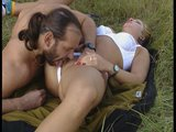 Naughty in the field / Dp on the floor