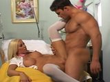 Cailey Taylor with a lucky patient