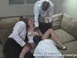 Interracial Creampie Gangbang