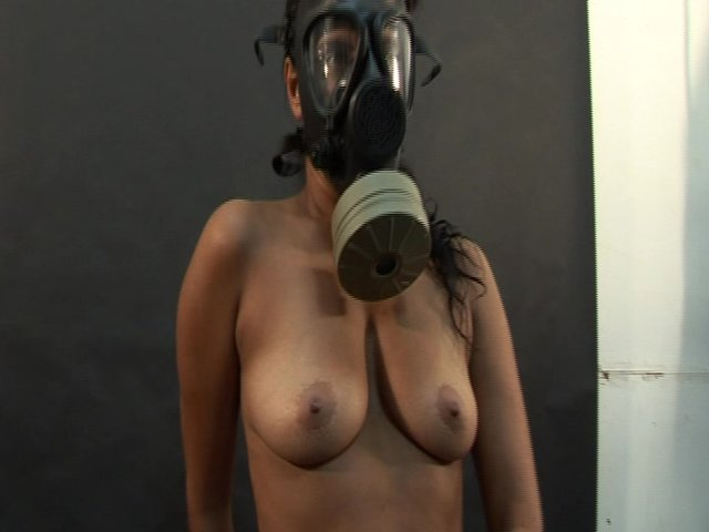 free panty hose gas mask sex