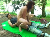Young babe fucked in the woods - Sebastano Perero