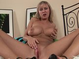 Rachel moans as she masturbates - CzechSuperStars