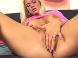 Exquisite blonde Stacy masturbating - CzechSuperStars