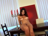 Beautiful Samantha pleasures herself - CzechSuperStars