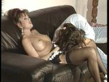 Euro maid gets busy with her friends - Telsev