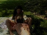 Sexy Brunette Fucked in the Park - Future Works