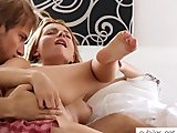 Saucy Monika Benz ass ramming