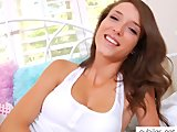 Malena Morgan deep dildo action