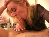 Blowjob on the Floor