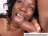 Mature black amateur has nice big boobs