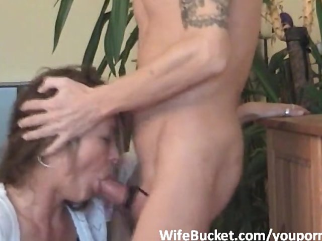 Wife mouth fucked