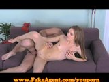 FakeAgent Amazingly hot amateur in Casting!