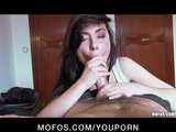 Stunning brunette beauty Veronica Vice filmed fucking by her BF