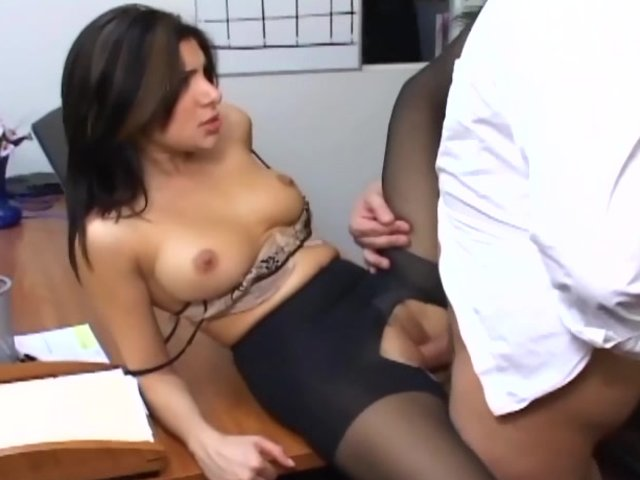 Blonde sex busty office