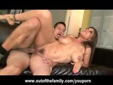 Ass Fucking His Wifes Big Titted Mom