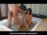 Slippery Nuru Massage 69 With Sophia Bella