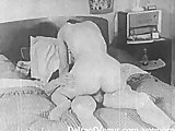 Authentic Vintage Porn 1950s - Shaved Pussy, Voyeur Fuck