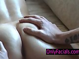 Hot pussy massage and facial for real natural beauty