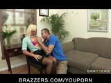 Big-tit MILF doctor Rhylee Richards helps diagnose her patient