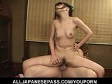 Mai Satsuki is bound and tied before she has her pussy filled with dick