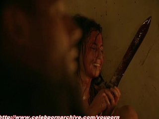 Sex Blowjob Celebrity vid: Bonnie Sveen - Spartacus Vengeance