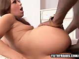 Mia Gold Takes On Interracial Pounding