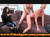 FakeAgent Biker chick needs servicing