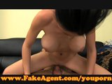 FakeAgent Perfect body for a tit wank