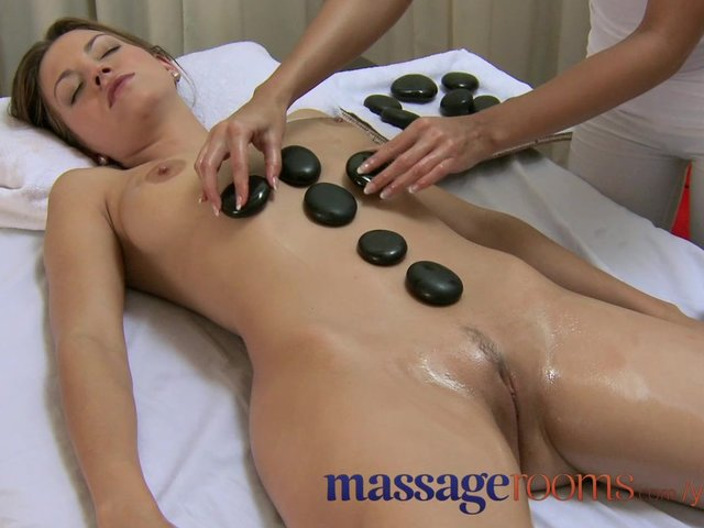 With you Foreplay massage room sex