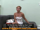 FakeAgent HD Hot mature amateur takes mouthful of spunk