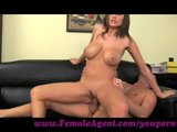 FemaleAgent. New agent and her incredible tits