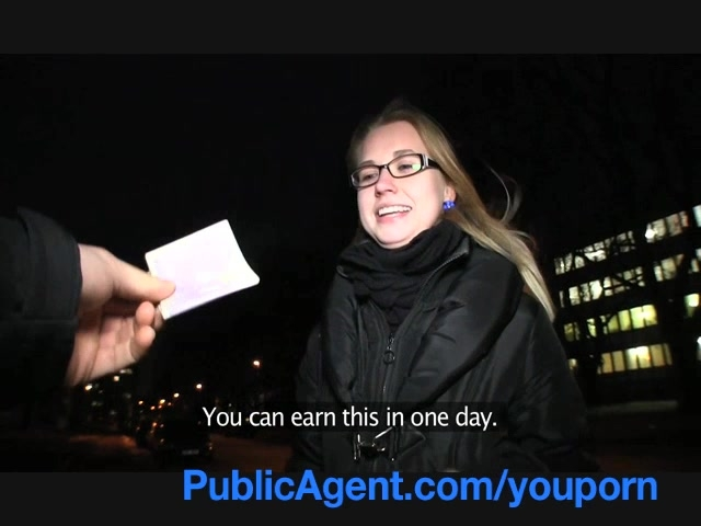 czech girl is picked up in the street and paid to fuck xnxx com