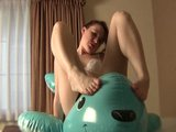 Kinky Babe Uses Floaties Unexpectedly - Sologirlcontent