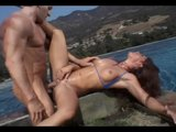 Poolside Babe Plays With Hoses - X-Worx