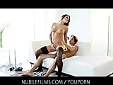 Teal Conrad seduces her lover for his cum