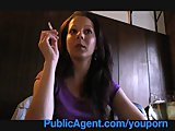 Publicagent Iveta fucks me to get a fake job