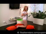Veronika dildo fun at home