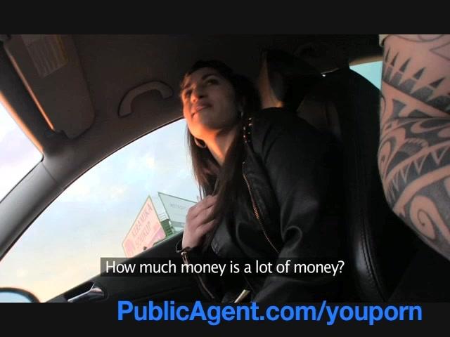 Public Agent Big Tits Car