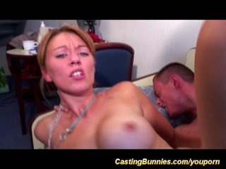 Video:french anal porn casting