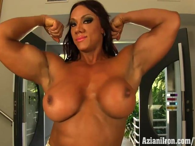 muscle women porn star image