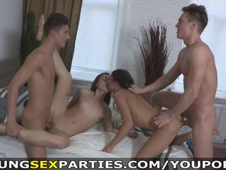 Young Sex Parties – Teens having a home fucking party